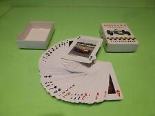 MERCHANDISE  GRAND PRIX CHAMPIONS PLAYING CARDS - LAUDA SENNA FANGIO HUNT ICKX