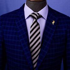 Popular Black Boss Formal Business Striped 3 Inch Tie Mens Professional Fashion