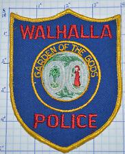 SOUTH CAROLINA, WALHALLA POLICE DEPT PATCH