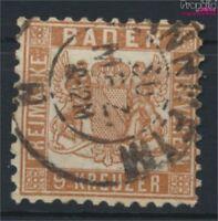 Baden 20a Pracht gestempelt 1862 Wappen (9158194
