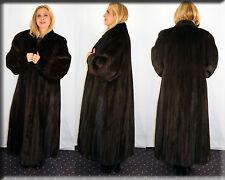 New Ranch Mink Fur Coat Size Extra Large 14 16 XL Efurs4less