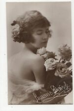 Actress Singer Lucienne Delyle Vintage RP Postcard 826b
