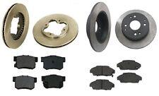 Honda Accord 90-94 L4 2.2L Full Brake Kit with Rotors and Semi Metallic Pads