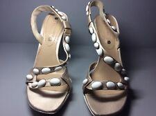 d25c41b324b5c Femme Satin Beige Celine Chaussures Taille 39.5