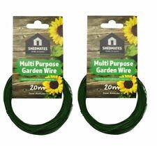 Kingfisher GSW102B Garden Wire Plastic Coated 2mm X 20m