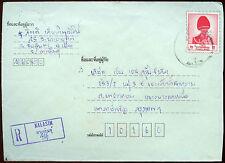 Thailand Registered Cover #C15315