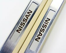 JDM NISSAN FUGA DOOR SILLS ILLUMINATED SCUFF PLATES Y50 INFINITI M35 M45 05-10
