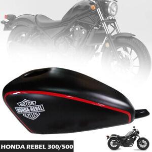 FOR HONDA REBEL CMX 500 300 17-20 TANK COVER FAIRING BLACK MATT-RED FENDER FUEL