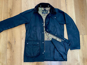 """Barbour X SOPHNET Bedale Wax Jacket - Black - M / 38"""" (Oi Polloi, Goodhood)"""