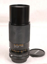 Tamron 80-210mm F3.8 BBAR Adaptall-2 Zoom Lens - Canon FD/Minolta MD/Konica AR