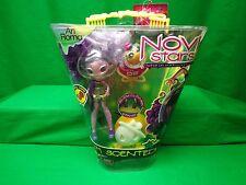 NEW, NOVI STARS DOLL, ARI ROMA  + PET 02, SCENTED, GLOW STAND NIB great gift