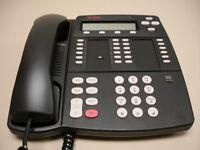 One Refurbished Merlin Magix 4412D+ Black Phone  (Avaya Lucent )