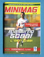 MINIMAG 2008-2009 N. 066 - MASSIMO GOBBI - FIORENTINA
