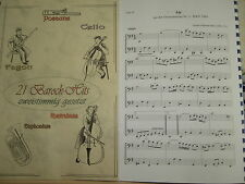 Noten - 21 Barock-Hits für Fagott - zweistimmig
