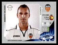 Panini Liga de Campeones 2012-2013 Roberto Soldado Valencia CF no. 406