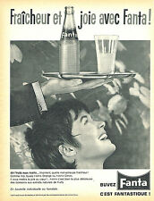 PUBLICITE ADVERTISING 015  1962  FANTA   soda