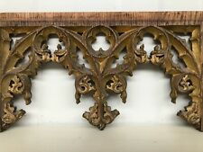Stunning Gothic Tracery Panel circa 1900 (1)