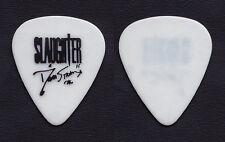 Slaughter Dana Strum Signature White Guitar Pick - 1990 Tour