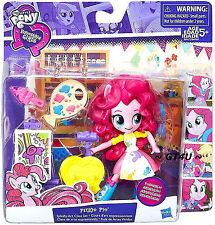 """My Little Pony EQUESTRIA Girls Minis PINKIE PIE Splashy Art Class Set Mini 5"""""""