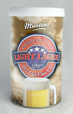 Munton's American Light Lager Kit