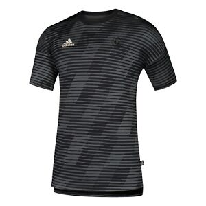 Real Salt Lake MLS Adidas Men's Tonal Perf. Black Culturewear T-Shirt