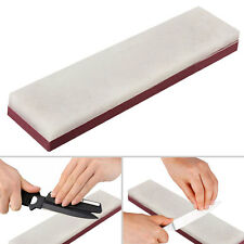 10000# & 3000# 2-Sides Grit Knife Razor Sharpener Stone Whetstone Polishing NEW