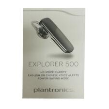 Plantronics Explorer 500 Bluetooth 4.1 Headset A2Dp Hd Voice Clarity Black Ps
