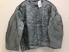 US ARMY ISSUED ACU M65 FIELD JACKET LINER COLD WEATHER FOLIAGE GREEN X-LARGE NWT
