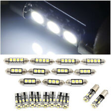 21x For BMW E46 Sedan Coupe M3 1999-2005 Canbus Car White Interior LED Light Set