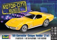 Revell Monogram 4411  1969 Chevrolet Yenko Corvette Coupe 2 in 1 Model Kit 1/25