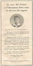 W4556 PROTON - Manenti Ferdinando - Modica - Pubblicità del 1931 - Vintage ad