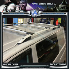 RENAULT TRAFIC 2001-2014 QUALITY ALUMINIUM CROSS BARS FOR ROOF RAILS,PAIR NEW