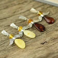 Cute little angel pendants from natural Baltic amber | Angel amber pendants