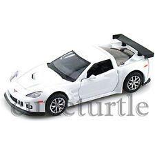 "RMZ City 5"" 2009 Chevrolet Corvette C6 R Diecast Toy Car 1:32 555003 White"