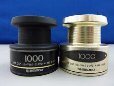 (Pair) Shimano 1000 Spinning Reel Spool, 1 Composite / 1 Metal