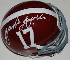 TAULIA TAGOVAILOA signed (ALABAMA CRIMSON TIDE) mini football helmet W/COA C