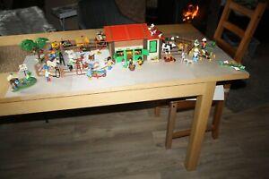 Playmobil Ponyhof ... Bauernhof .. Trecker gross und klein ... 60 Tiere und mehr