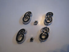 6.8 6.8L 413 Hood Scoop Fender Trunk Engine Id Emblems Set Black Fits Dodge Plym