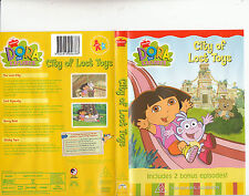 Dora The Explorer:City of Lost Toys-2000-TV Series USA-4 Episodes-DVD