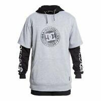 Dc shoes dryden dwr 3 in 1 hoodie black 2020 felpa snowboard new xs s m l xl