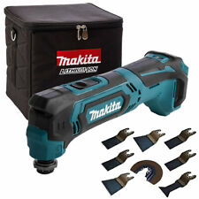 Makita TM30DZ 10.8V CXT MultiTool With Cube Tool Bag & 8 Piece Accessories Set