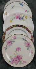 4 MISMATCHED FINE OLD VINTAGE CHINA CAKE/DESSERT/BREAD PLATES  WEDDING CPO4o