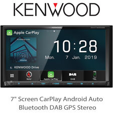 """Kenwood DNX7190DABS - 7"""" Screen CarPlay Android Auto Bluetooth DAB GPS Stereo BN"""
