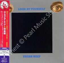 URIAH HEEP LOOK AT YOURSELF CD MINI LP OBI + bonus tracks Mick Box new sealed