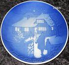 1973 BING & GRONDAHL / ROYAL COPENHAGEN PIATTO DI NATALE TOP PRIMA SCELTA