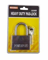 60mm Solid Heavy Duty Warehouse Container Garage Shutter Padlock Gate Chain Lock