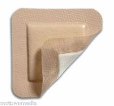 "ComfortFoam Border Soft Silicone Foam Dressing DermaRite 4"" x 4"" Box/5 Exp. 2021"