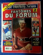 """THE HOCKEY NEWS MONTREAL CANADIENS MAURICE RICHARD  """"Les Fantomes du Forum"""" no.2"""