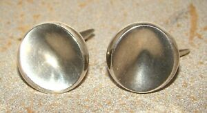 Georg Jensen Sterling Silver 74B Cufflinks
