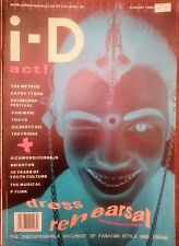 i-D Vintage Magazine AUGUST 1986 No 39 London fashion Naomi Campbel Gilberto Gil